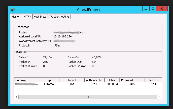 How to connect to Palo Alto VPN – GlobalProtect from Linux